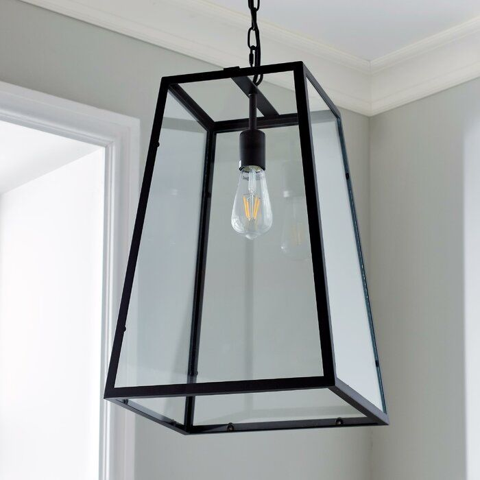 Bulverde 1 Light Lantern Pendant Lantern Pendant Lighting