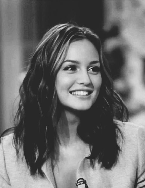 hair girl cute Black and White fashion style omg Gossip Girl blair waldorf Leighton Meester leighton gg blair