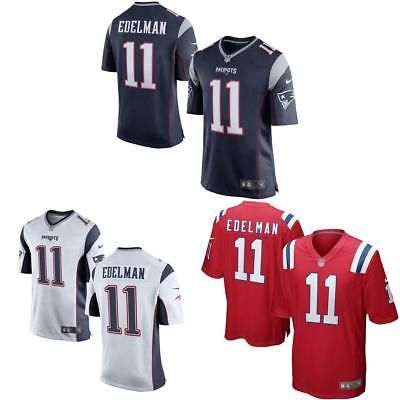 9cf7e0414 Clothing 21218  Julian Edelman Men Game Jersey White Red Navy -  BUY IT NOW  ONLY   36.5 on  eBay  clothing  julian  edelman  jersey  white