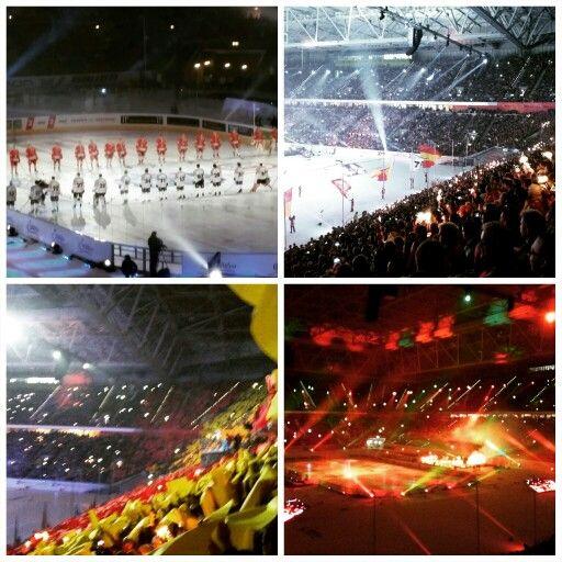 #Derbysieger!  #DEGKEC #DEL #Wintergame #Eishockey #Icehockey #EspritArena #Düsseldorf #Latergram