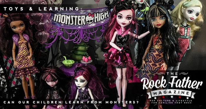 Can Our Children Learn from Monsters? Presented in partnership with Mattel's #MonsterHigh  #Halloween #Toys