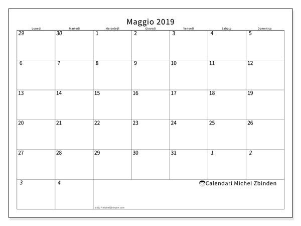 Calendario Maggio 2020.Calendario Maggio 2019 70ld Egitto Calendario