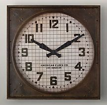 Wish this could be on the dock, but only indoors: 1940s Gymnasium Clock