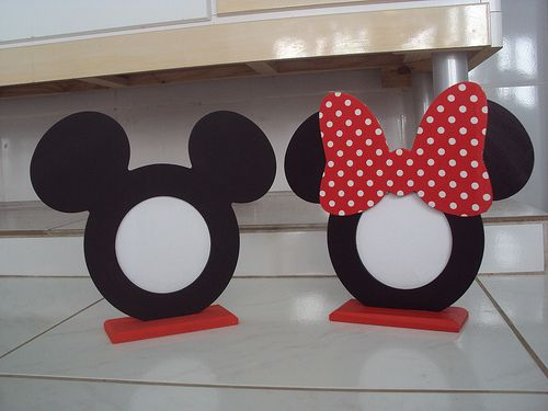 Porta Retrato Mickey e Minnie | Flickr - Photo Sharing!