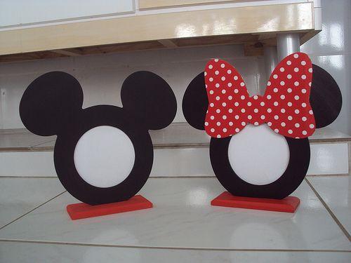 Porta Retrato Mickey e Minnie | Flickr - Photo Sharing!