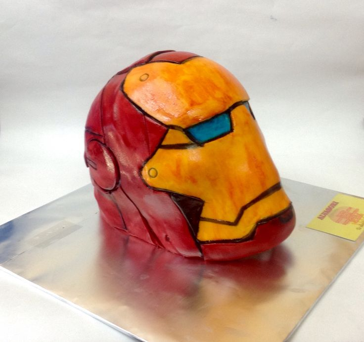 Now the time is here for iron man to spread fear vengeance from the grave kills the people he once saved nobody wants him they just turn their heads nobody helps him now he has his revenge. #ironman #cake #helmet