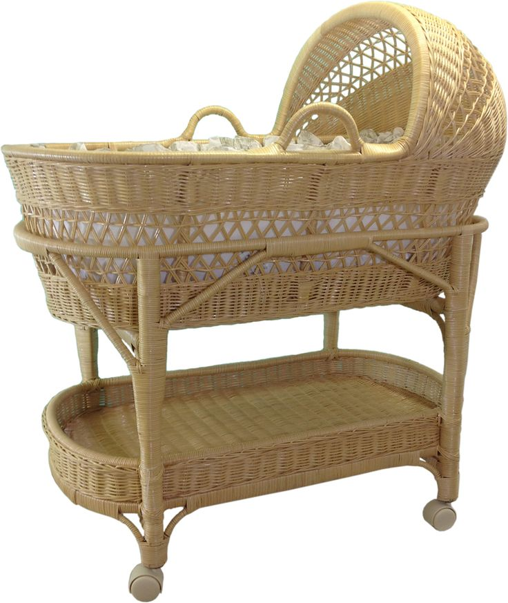 ... scale miniature wicker bassinet, jointed mohair bear and baby clothing