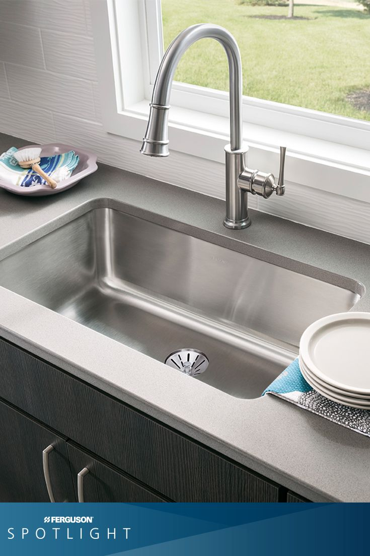 The elkayusa perfect drain has so many great features - Great kitchen sinks ...