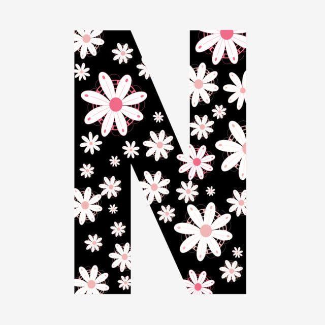 الأبجدية حرف النون الزهور ناقلات دعوات الزهور الحروف الأبجدية مجموعة الأبجدية الزهور الأبجدية زخرفة بطاقة دعوة بطاقة دعوة زهور Floral Letters Lettering Floral