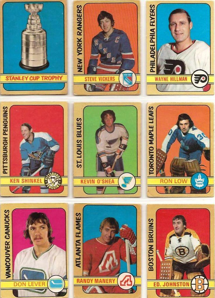 253-261 Stanley Cup, Steve Vickers, Wayne Hillman, Ken Schinkel, Kevin O'Shea, Ron Low, Don Lever, Randy Manery, Ed Johnston