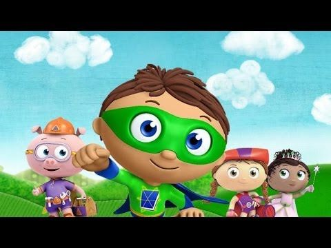 """Super Why - """" Baby Dino's Big Discovery"""" Full Episodes 2014 New Episode"""