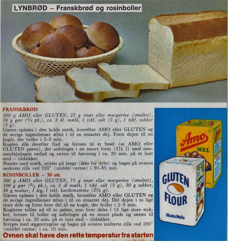 LynBrød - Fransbrød og rosinboller...