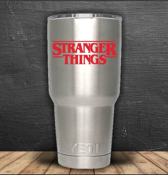 Excited to share the latest addition to my #etsy shop: Stranger Things, Stranger Things Decal, Stranger Things Sticker, Stranger Things Vinyl, Yeti Sticker, Yeti Decal, Laptop Decal, Decal #strangerthings #yetisticker #yetidecal #wendyjdesigns #decal #laptopdecal #decals #decalstickers