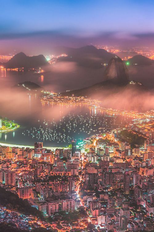 earthlycreations: Rio de Janeiro, Brazil by Wellington Goulart One day Rio... One day.