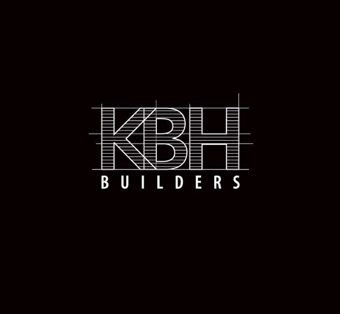 KBH Builders Logo | Silverline Creative                                                                                                                                                                                 More