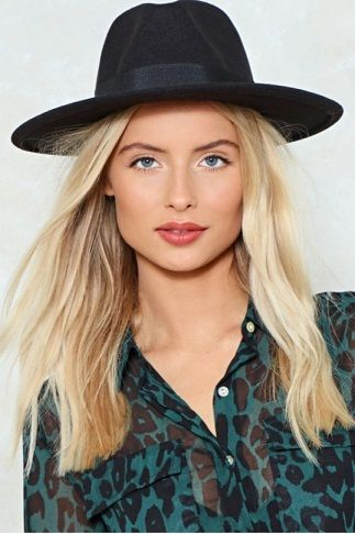 I Spy Fedora Hat.  Something beginning with beauty hat. The I Spy Hat features a fedora design, straight brim, and ribbon detailing at crown.