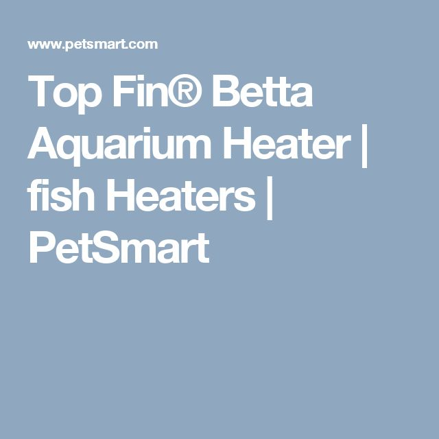 Top Fin® Betta Aquarium Heater | fish Heaters | PetSmart