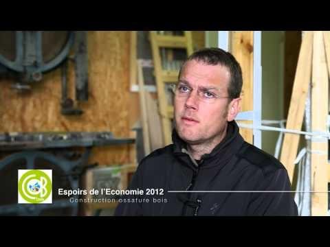Réalisation de la vidéo de présentation des espoirs de l'économie pour le compte de la CCI de Morlaix. Présentation de l'entreprise Cobbois à Carhaix Plouguer réalisée par http://www.air-media29.com