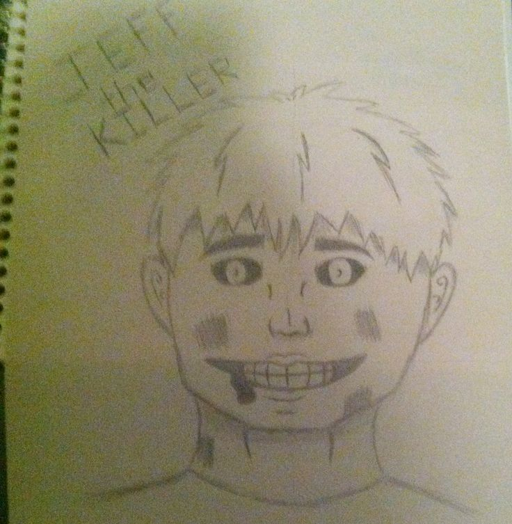Jeff the Killer from Creepypasta By:DerickPaws