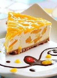 Cheesecake de Mango Receta