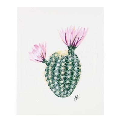 Flowering Cacti II Print – Our Heiday