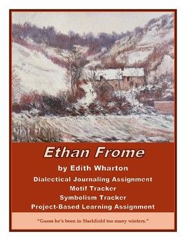 ethan frome summer assigment There are various instances of imagery in ethan fromeedith wharton uses metaphors throughout the entire book i noticed many but two particular ones were most prominent.