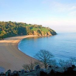 Blackpool Sands, South Devon, one of Britain's best beaches.