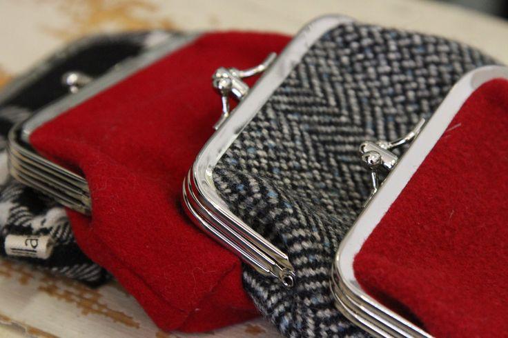 Wool pouches, redesign by Willatar. jokiå design, Porvoo, Finland.