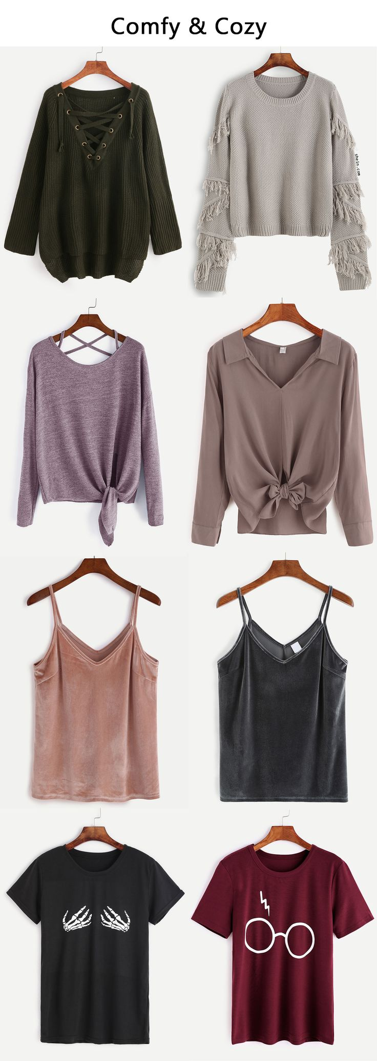 Comfy & cozy tops. Shop now!