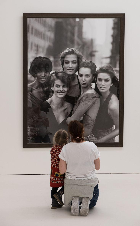 Peter Lindbergh - Fotoausstellung, Kunsthalle München