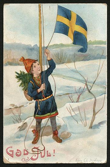 Sami Christmas card: Christmas Cards, God Jul, Anne Charlotte, Sjöberg 1864 1947, Karácsonyi Üdvözlet, Charlotte Sjöberg, Jul Christmas, European Christmas, Sjöberg 18641947