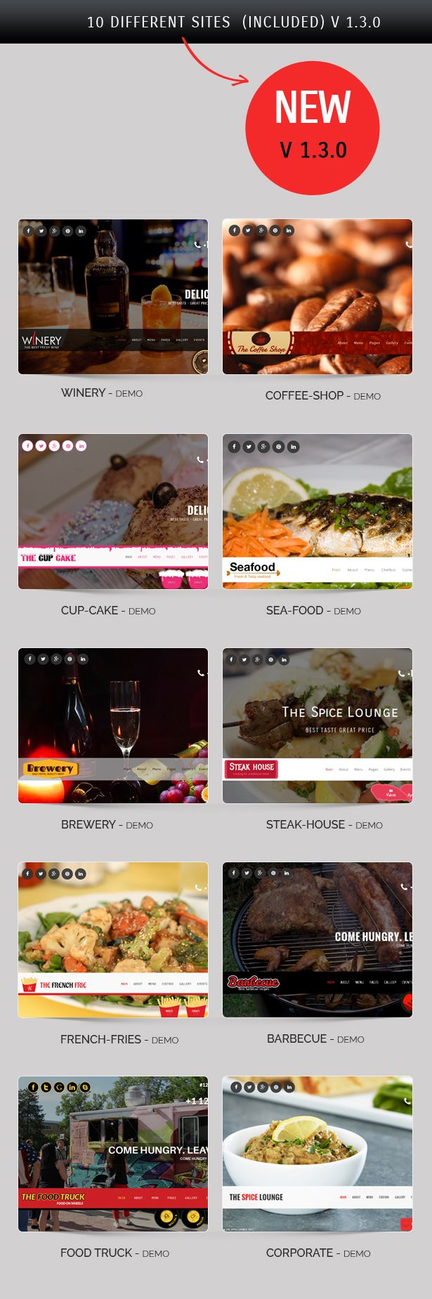 The Spice Lounge is a Responsive HTML 5 Bootstrap template designed for Restaurants, Cafe, Bars websites. Html files make everything clear and easy to customize. In this template there are ...