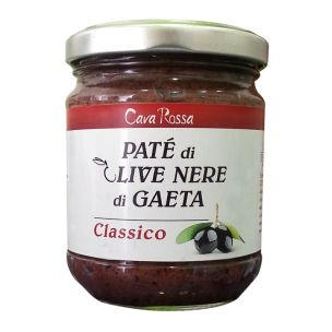 Paté di Olive Nere di Gaeta - 180gr.