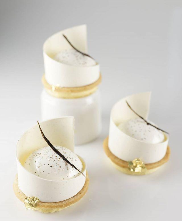 Vanilla tart #guillaumecoulbrant
