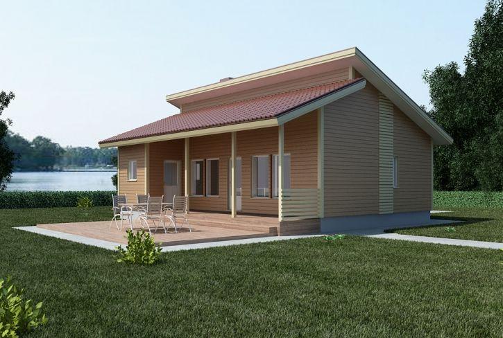 Vesipedon paratiisi – Aurinkolahti: 70 m², 2 makuuhuonetta