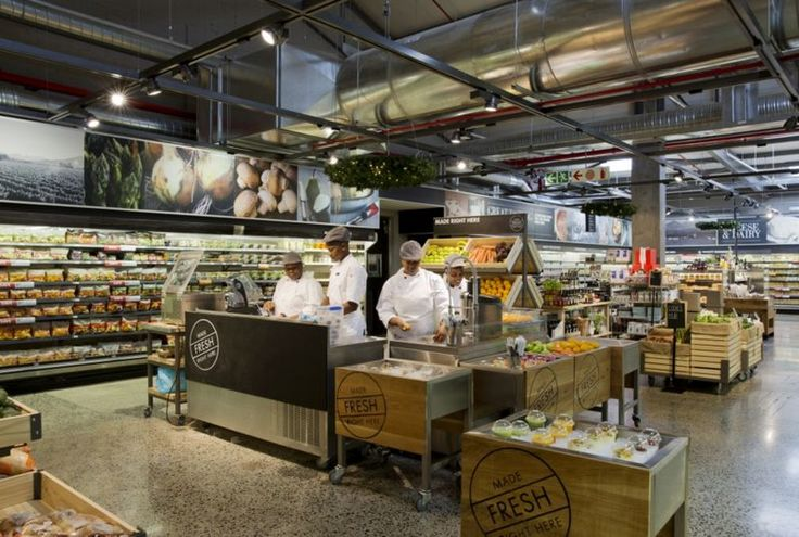 Woolworths Food Embraces a Design That Shows Behind the Scenes Action #architecture trendhunter.com