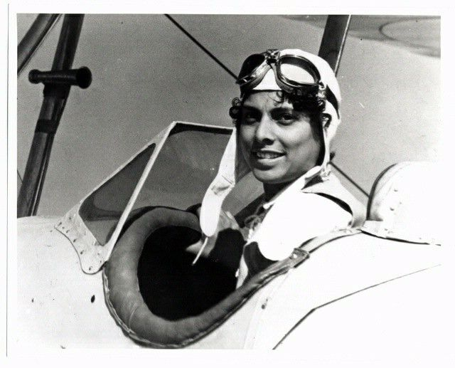 Willia Brown a pioneer woman, pilot, and President of the National Airmen's Association of America, successfully lobbied federal funds in 1939 to support the NAA pilot training program. Located in Chicago, this was the first privately ran training school for black pilots in the country. Pinterest @sweetness