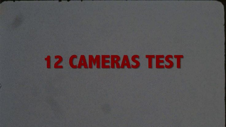 """12 CAMERAS TEST - PART III - """"THE DAY"""" - UNGRADED FOOTAGE"""