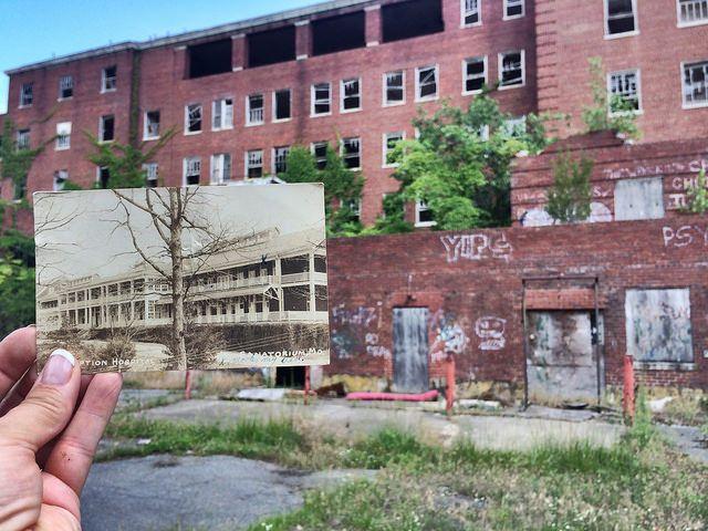 Abandoned Glenn Dale Hospital is located in Prince Georges County, Maryland. 5201 Glenn Dale Rd., Glenn Dale https://en.wikipedia.org/wiki/Glenn_Dale_Hospital
