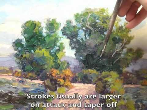 Getting greens right in landscape painting