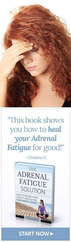 Adrenal Fatigue Treatment? Nebennieren Müdigkeit DiätNebennierenschwäche  BehandlungNebennierenDetox ...