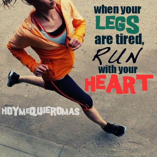 HOY ME QUIERO MAS: Beneficios de correr. RUN