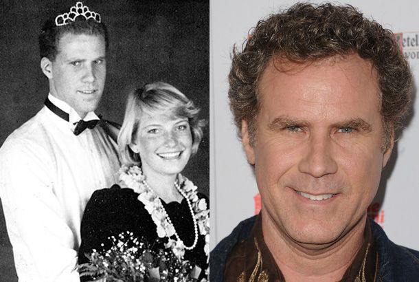 Will Ferrell, Senior Winter Ball at University High School in Irvine, California (1986), and Will Ferrell Today