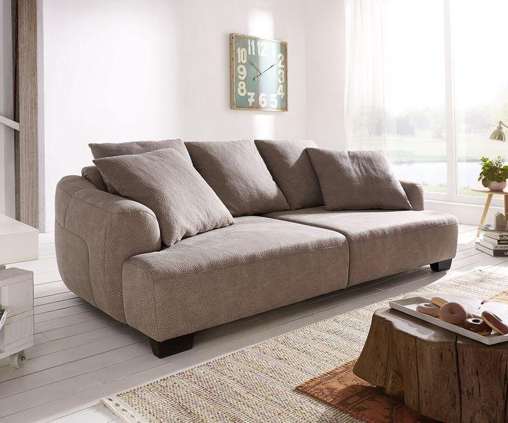 25+ parasta ideaa Pinterestissä Big Sofa Grau Wohnzimmer - wohnzimmer couch günstig