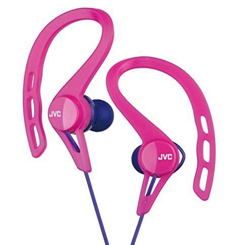 135a1be79c8 JVC HA-EXC25-P canal type earphone drip-proof specification Pink sports  Review