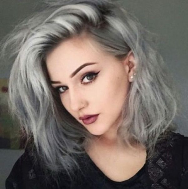 Inspiring grey hair styles for women to try in 20160071