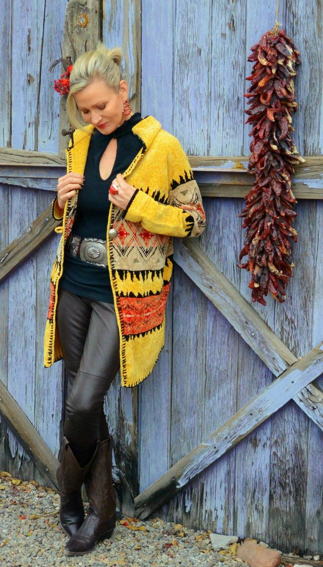 Southwestern style worn by Jamie at More Than Turquoise
