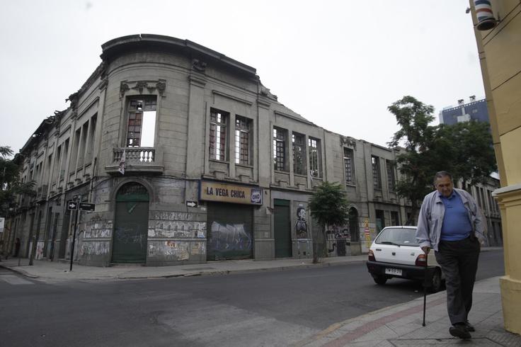 Casona del barrio Yungay