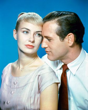 Joanne Woodward with Paul Newman