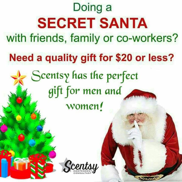Scentsy Christmas Gifts.Secret Santa Christmas Questionnaire